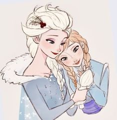 Elsa and Anna holding Olaf, Disney's Frozen Frozen Disney, Disney Pixar, Disney Nerd, Arte Disney, Disney And Dreamworks, Disney Girls, Disney Animation, Disney Love, Anna Frozen