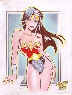 wonder woman digital clip art   Cartoon' Wonder Woman (#1) by Rodel Martin by…