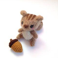 Amigurumi Squirrel Crochet Squirrel Crochet by PrincessInDreams