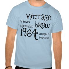 >>>Cheap Price Guarantee          50th Birthday 1964 Vintage Brew Blue and Black Tees           50th Birthday 1964 Vintage Brew Blue and Black Tees so please read the important details before your purchasing anyway here is the best buyReview          50th Birthday 1964 Vintage Brew Blue and...Cleck See More >>> http://www.zazzle.com/50th_birthday_1964_vintage_brew_blue_and_black_tshirt-235024616269359363?rf=238627982471231924&zbar=1&tc=terrest