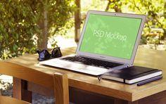 MacBook Air Mockup #4