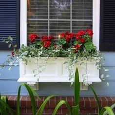 """Fairfield Window Box (36"""" or 60"""") Color: White, Size: 36"""" Mayne Inc."""