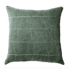 Gage Green Pillow Cover – Danielle Oakey Shop