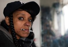 The stories of addicts in the Hunts Point neighborhood, the poorest in all of NYC. Terrifying, and gorgeous. Compelling photos.
