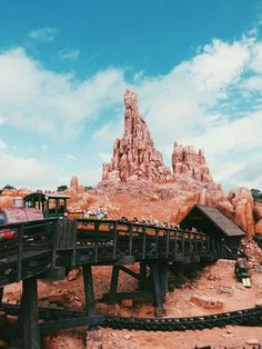 Big Thunder Mountain! Love this ride!