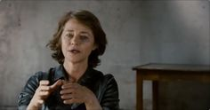"""Charlotte Rampling: The Look (2011). Director Angelina Maccarone. Director of Photography Judith Kauffman. This film is structured around movie clips and conversations between Rampling and some of her key collaborators. But the heart of the piece is Rampling's own words, as she waxes poetic on her theories of performance, life, beauty etc. """"The camera has to be the most intimate friend when you're filming, or when you're being photographed. The camera is always going to be ..."""