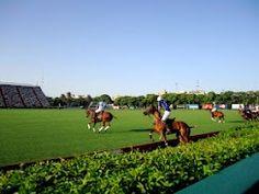 El Campeonato Argentino Abierto de Polo (Argentine Open Polo Tournament) in Palermo - Buenos Aires, Argentina