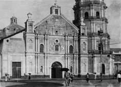 """The Philippines: """"Then and Now"""" Photos - Compiled Threads Pardon me if this site has been posted already. Filipino Architecture, Philippine Architecture, Baroque Architecture, Regions Of The Philippines, Manila Philippines, Fort Santiago, Leyte, Visayas, Mindanao"""