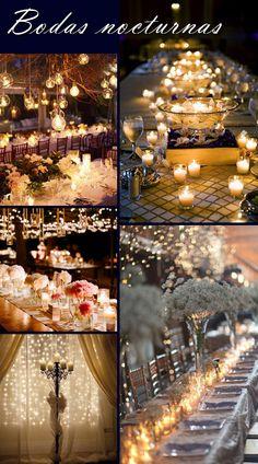 decoración bodas, bodas diurnas, bodas nocturnas, bodas