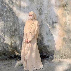 Dress Muslim Modern, Muslim Dress, Hijab Dress, Modest Fashion Hijab, Casual Hijab Outfit, Ootd Hijab, Hijabi Girl, Girl Hijab, Muslimah Wedding Dress