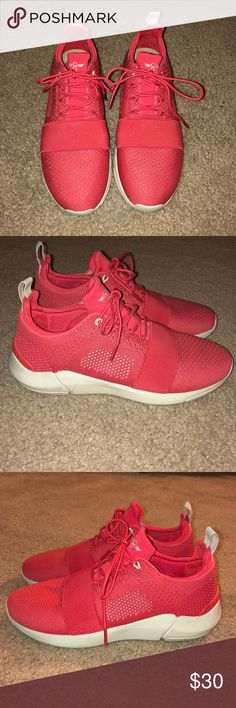 Creative Recreation sneakers Red athletic shoes perfect to pair with workout wear or your weekend brunch look! Light feel on foot, brand runs half a size big so listed size 8 but would better fit an 8.5. Creative Recreation Shoes Sneakers