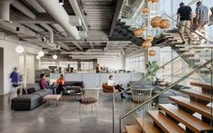 Genealogy company's new headquarters was inspired the ideas of shared lineage and migration