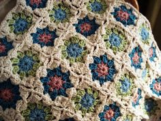Flower Power: Spring Blanket for Ms. A