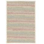 Parkside Spring Mix 10 ft. x 10 ft. Braided Square Area Rug