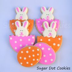 easter egg cookies with royal icing - Google Search