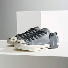 Converse x John Varvatos Distressed Sneakers Collaborating with John Varvatos, Converse innovates upon the classic Chuck Taylor sneaker. Topped with a pebbled leather upper + clear rubber sole + distress all over to add ruggedness.  Details - Leather, cotton, rubber - Spot clean - Imported  Photos were photographed by me, don't take. Item's color may vary from photos  NOTE: Over time, distress on the sneaker will change and show its wear beautifully, adding a personal touch.  USE THE OFFER…