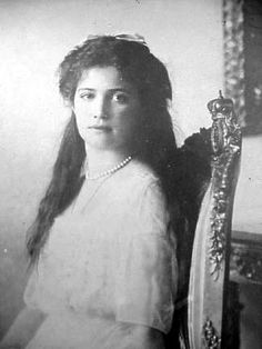 Grand Duchess Maria Nikolaevna of Russia (1899-1918) Age at death 19 years and 22 days
