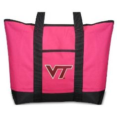 Virginia Tech Pink Tote Bag Hokies - For Travel or Beach Best Unique Gift Ideas for Her, Women, or Ladies (Apparel)  http://www.99homedecors.com/decors.php?p=B004BOGP46  B004BOGP46