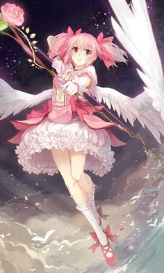 Though I have yet to watch this series, I know a number of my followers would be unhappy if I were to withold these next two, so here you are. -- Madoka Magica