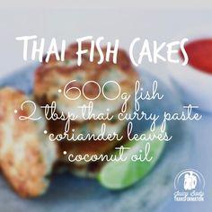 Thai Fish Cakes!