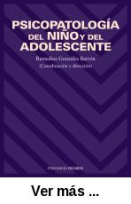 Psicopatología del niño y del adolescente / coordinación y      dirección, Remedios González Barrón. -- Madrid : Pirámide, 2006 http://absysnetweb.bbtk.ull.es/cgi-bin/abnetopac01?TITN=532034