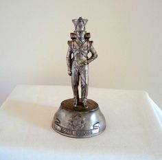 Chas Stadden English Pewter Scots Guard Soldier