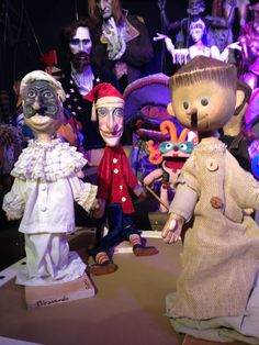 Puppets at the exhibition