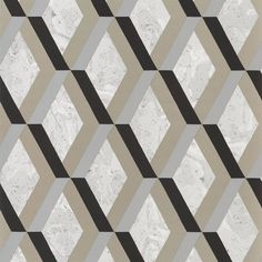 Jourdain Wallpaper in Noir from the Mandora Collection by Designers Guild