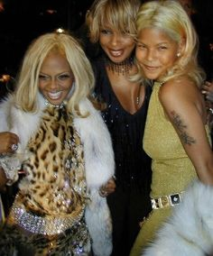 black and blonde fabulous ass bitches. lil kim mary j blige and misa hylton 🙏🏿 Lil Kim 90s, Afro, Faith Evans, Mary J, Hail Mary, 90s Hip Hop, Black And Blonde, Black Girl Aesthetic, Black Is Beautiful