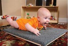 Balance board for babies