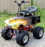 Can& crush cars, but is the wrath of hell on beer cans! Rat Rods, Cool Go Karts, Toy Wagon, Radio Flyer Wagons, Big Boyz, Power Cars, Kids Ride On, Pedal Cars, Diy Décoration