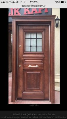Özel villa kapıları