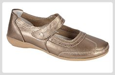 Shoe Tree Comfort , Damen Mary Jane Halbschuhe , bronze - bronze - Größe   42 - Mary jane halbschuhe ( Partner-Link) 5e18b6f66b