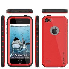 The PUNKcase StudStar case is your ultimate protection against what you or nature can offer. IP68 certified!      The StudStar case is Waterproof, Dust Proof, Snow Proof, Drop Proof, Shockproof and it has a HD clear scratch resistant screen guard to complete the protection.     The package includes a 3.5mm headphone jack adapter and a lanyard. Easy access to all buttons, controls, camera, speaker and microphone.     The PUNKcase StudStar case has 6 stylish colors to choose from to fit your…