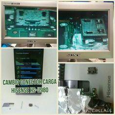 Reparacion / cambio conector carga en Hisense HS-U980  www.MOVILCONSOLAS.com