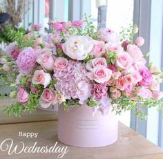 Get the look with Silk Flower Depot (Please click item# to get it in website.) Hydrangea/Rose Bouquet Cream Coral Peony Bouquet Peach Peony/Sweet Pea Bouquet Two Tone Pink Rose Bouquet Pink Beautiful Flower Arrangements, Fresh Flowers, Silk Flowers, Floral Arrangements, Beautiful Flowers, Deco Floral, Arte Floral, Peonies Bouquet, Bouquets