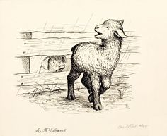 loneliness-charlottes-web-page-29-illustration-1952-gm-williams.jpg (1600×1311)