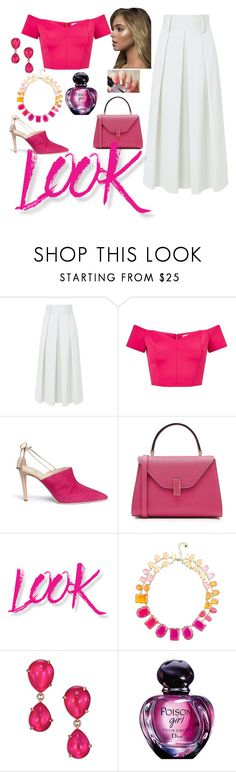 """Untitled #10"" by emina-ahmetovic ❤ liked on Polyvore featuring TIBI, Miss Selfridge, Alexander White, Valextra, NYX, Kate Spade and Pomellato"
