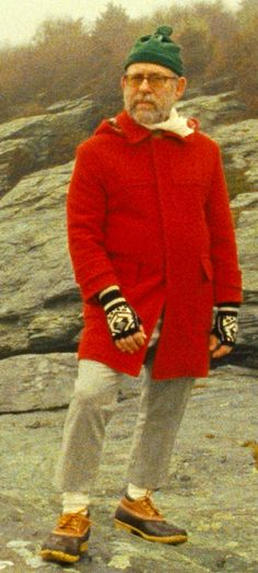 Bob Balaban as The Narrator in 'Moonrise Kingdom' - Costume Designer: Kasia Walicka-Maimone