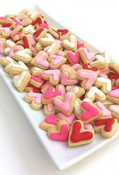 heart shaped desserts