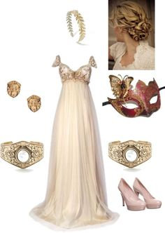 """Garnet masquerade outfit 2.1"" by andipouf on Polyvore"
