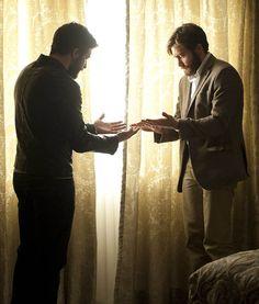 """Jake Gyllenhaal en """"Enemy"""", 2013"""