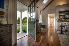 Since the front door opens directly into the magnificent great room, guest get the perfect first impression of the bright, open home.