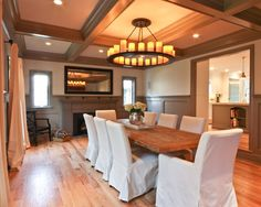 Traditional Dining Room Wainscoting Design, Pictures, Remodel, Decor and Ideas - page 3
