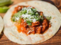 Smoky Tinga de Pollo Tacos