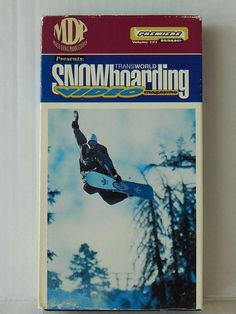 Transworld Snowboarding Video Magazine VHS MDP Presents Premiere Issue Vol 1
