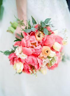 Pink peony bouquet | Photography: Shelly Goodman - shellygoodmanphotography.com