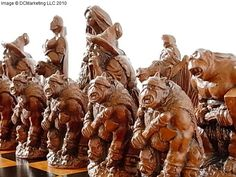 Lord of the Rings Chess Set - Fantasy Chess Sets - Dragon Chess Sets
