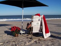 Santa after Christmas. Tropical Christmas, Beach Christmas, Coastal Christmas, Aussie Christmas, Merry Christmas And Happy New Year, Christmas In July, Christmas In Australia, I Love The Beach, Santa Sleigh