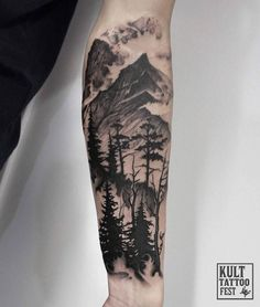 Combination landscape - add more to make full sleeve #ad
